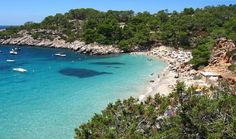 A Bay in Ibiza Spain