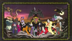 Of all things, Disney knows how to do villians.