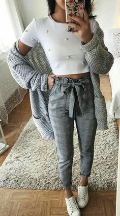 F A S H I O N 50 Best Summer Outfits for Women Moda Trends Mode Moda Modetrends outfit Outfit ideen outfits Summer Trends Women Cool Summer Outfits, Work Outfits, Fall Outfits, Teen Outfits, Crop Too Outfits, Casual Dresses For Winter, Casual Summer Outfits Women, Spring School Outfits, Casual Outfits For Winter