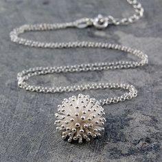 Dandelion Necklace Silver