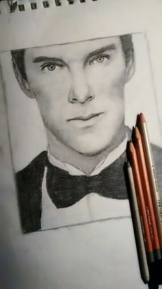 I tried my hand at drawing Benedict Cumberbatch... Lemme know what you think! Cred: @helpthefactionl