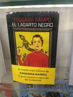 """""""El lagarto negro"""" de Edogawa Rampo. Salamandra."""
