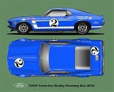 Ford Mustang Trans-Am Ford Mustang Boss, Mustang Cobra, Ford Gt, Shelby Mustang, Classic Mustang, Ford Classic Cars, Sport Cars, Race Cars, Nascar