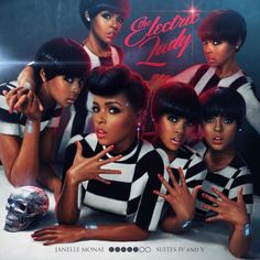 JANELLE MONAE ELECTRIC LADY A kid that graduated from my high school was paid to do her album cover!
