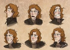 skailla: Dustfinger from inkheart, based on Tangled expressions! =D