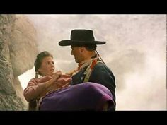 JW with Natalie Wood - The Searchers (based on a true story)