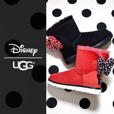 Disney have collaborated with UGG. Aren't those bows the cutest? Read more on the blog.
