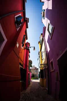 Colours in Burano, Veneto, Italy