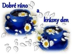 Good Morning, Tea Cups, Bom Dia, Bonjour, Tea Cup