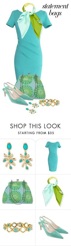 """""""Make Any Season Special"""" by shamrockclover ❤ liked on Polyvore featuring Oscar de la Renta, WithChic, Amy Butler, Hermès, Tiffany & Co. and Prada"""