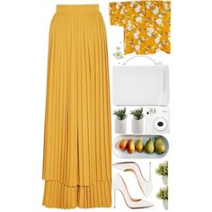 Designer Clothes, Shoes & Bags for Women Yellow Top, Polyvore Outfits, Home, Design, Ad Home, Homes, Haus, Houses