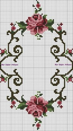 kucuk parçası Xmas Cross Stitch, Cross Stitch Pillow, Cross Stitch Heart, Cross Stitch Borders, Cross Stitch Animals, Cross Stitch Flowers, Cross Stitch Designs, Cross Stitching, Cross Stitch Embroidery