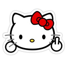Hello Kitty - Flippy Kitty by Lucas Martin-King