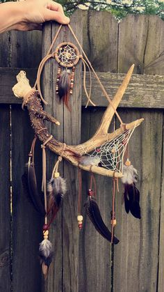 Articles similaires à Deer Antler Dream Catcher sur Etsy Deer Antler Crafts, Antler Art, Diy Tumblr, Dream Catcher Craft, Making Dream Catchers, Diy And Crafts, Arts And Crafts, Deer Horns, Wind Chimes