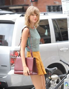 Taylor in NYC, today.