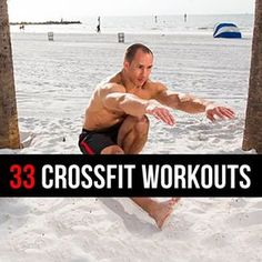 Do you not have time or money to train at a Box? Then you need to try these 33 CrossFit Bodyweight Workouts that you can do at home or while traveling.