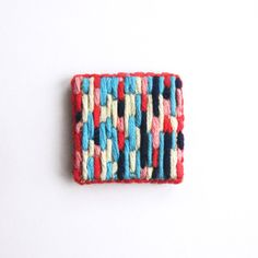 NEW hand-embroidered brooches from A Alicia www.aalicia.bigcartel.com