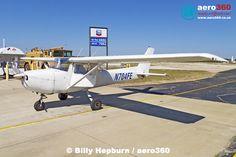 Old OBA workhorse C150M N704FE at Ormond Beach Municipal (KOMN). #aircraft #aviation #ga #civil #single #piston #trainer #ormond #florida #usa #aero360 #cessna