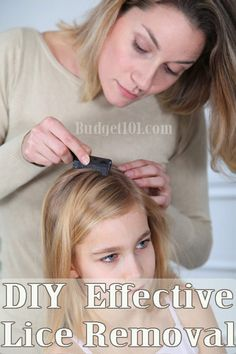 DIY Effective Lice Removal Treatment- non toxic home remedy