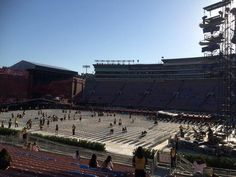 Panorama of the Rose Bowl 09.11
