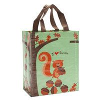 I HEART LUNCH SQUIRRELY HANDY TOTE