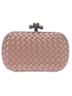 Woven Box Clutch by Bottega Veneta #GenteRoma