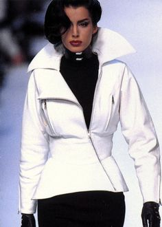 Claude Montana 1992. I feel a theme of white coming on....