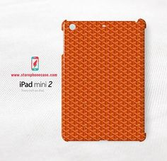 Goyard Paris Orange Pattern -  IPAD MINI 2 Cover Case