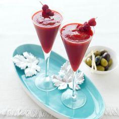 Frozen Raspberry Daiquiris  #Recipe #CreativeGourmet #myfoodbook