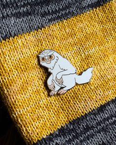 Fantastic Beasts Demiguise Hard Enamel Pin. by fawnlorn on Etsy https://www.etsy.com/listing/494301364/fantastic-beasts-demiguise-hard-enamel