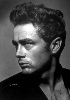 James Dean.  Dark, dangerous and a rebel.  What's not to love?!