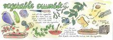 Vegetable Crumble by Hélène Peters