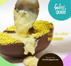 Ovo de colher - Sabor Beijinho