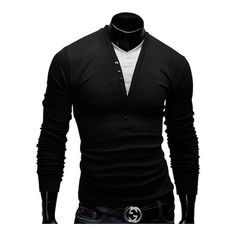 Get it for someone you love Zichanos Two tone... FREE shipping  http://vapestox.com/products/zichanos-two-tone-v-neck-long-sleeve-tees-for-men?utm_campaign=social_autopilot&utm_source=pin&utm_medium=pin