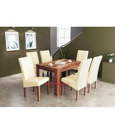 Étkezőasztal 4 személyes, nyitható, 4 székkel Bútorpláza