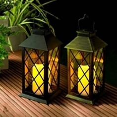 Tomshine LED Solar Lantern Lights Hanging Lamp Outdoor Solar Light Candle Bulb Pathway Mental Waterproof for Patio Courtyard Garden