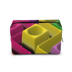 COLOR CUBES COSMETIC BAG