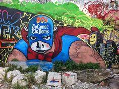 BARCELONA STREET ART: Dios