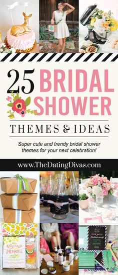262d703ea3d7 Love these ideas! Top 25 Bridal Shower Themes - http   www.