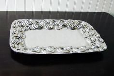 Old Town Imports Aluminum Serveware Confetti Platter {PRESALE ONLY}. $37.99 regularly $62.99