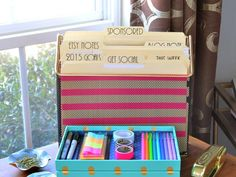 Conquer paper clutter, keep your supplies in order and stay on top of important tasks with these home office organizing tips from HGTV.com.