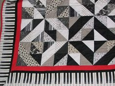 Kelly's Piano Quilt