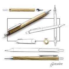 Mauricio Sanin on Behance Sketch Inspiration, Art Journal Inspiration, Brand Identity Design, Branding Design, Corporate Branding, Logo Design, Architecture Concept Drawings, Pencil Design, Object Drawing