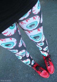 Eyeball leggings