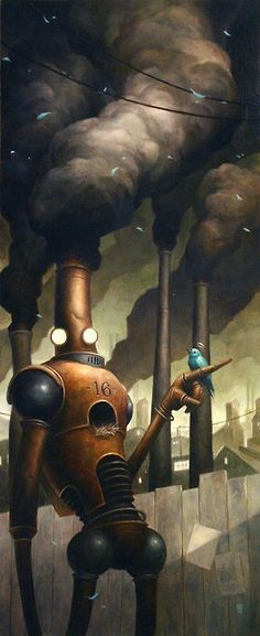 The Art Of Animation, by brian despain | Image brought to you courtesy of www.robotradio.com | An Alien Gift to Mankind.
