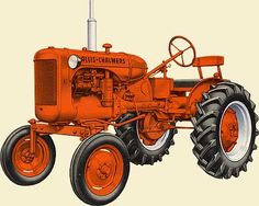 Model B Allis Chalmers tractor.  I need a barn so that I can procure and restore one of these.  Dream on.