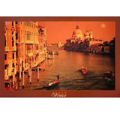 Venedig Poster. Hier bei www.closeup.de