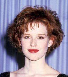 Molly Ringwald is the ultimate '80s beauty with her pouty lips and iconic red hair