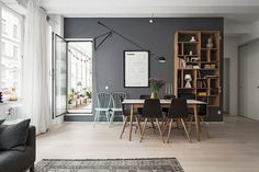 Balcon bohème dans appartement design