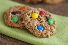 Barefeet In The Kitchen: Monster Cookies - Naturally Gluten Free